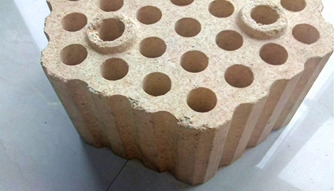 checker bricks in refractory for blast furnace