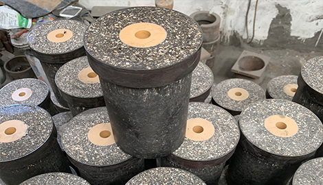 Nozzle brick for tundish
